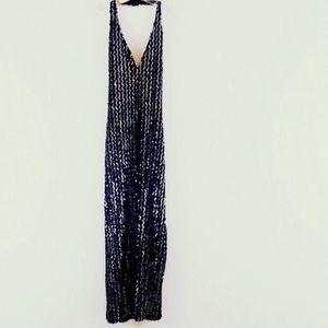 Vintage Fredericks of Hollywood Halter Maxi Dress
